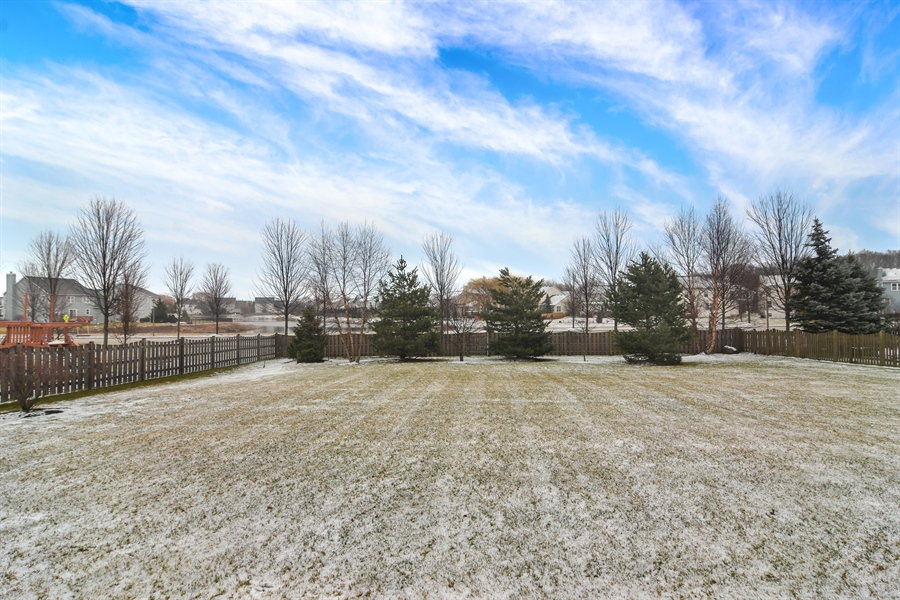 Real Estate Photography - 2360 Stonybrook, Wauconda, IL, 60084 - Back Yard