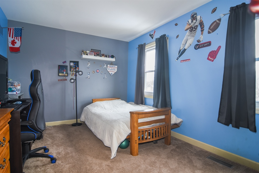Real Estate Photography - 40W982 Creekwood, Elgin, IL, 60124 - 3rd Bedroom