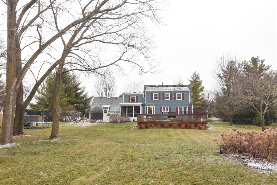 Real Estate Photography - 40W982 Creekwood, Elgin, IL, 60124 - Rear View