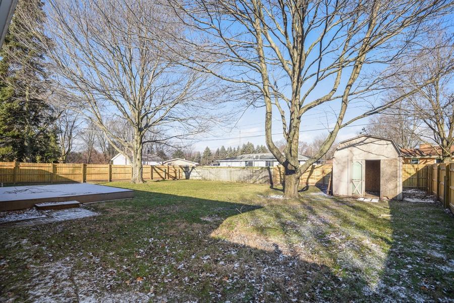 Real Estate Photography - 1855 N. Sierra Way, Stevensville, MI, 49127 - Back Yard
