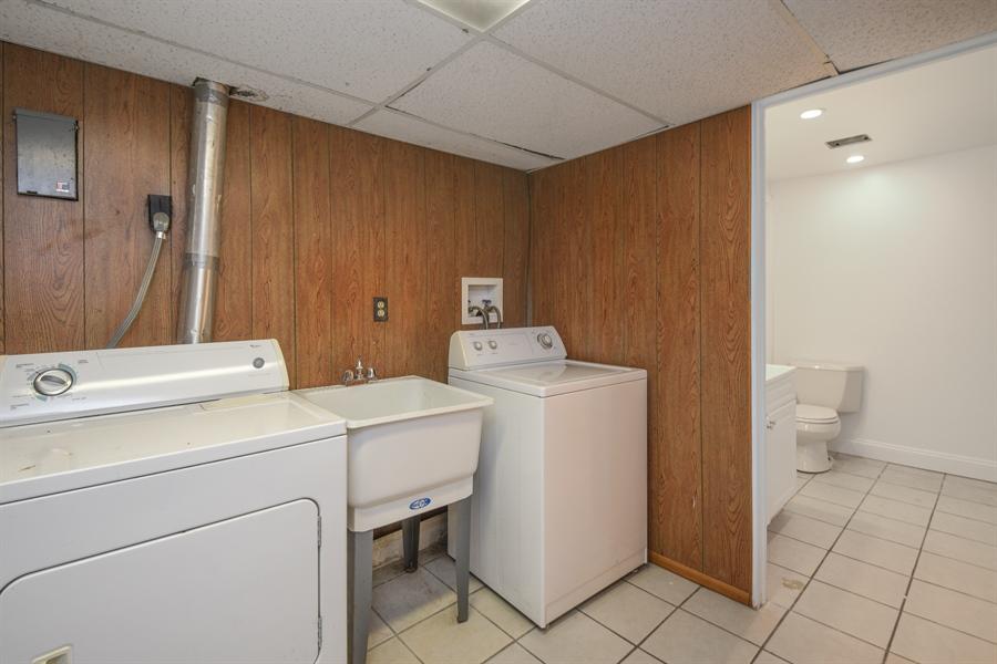 Real Estate Photography - 1855 N. Sierra Way, Stevensville, MI, 49127 - Laundry Room