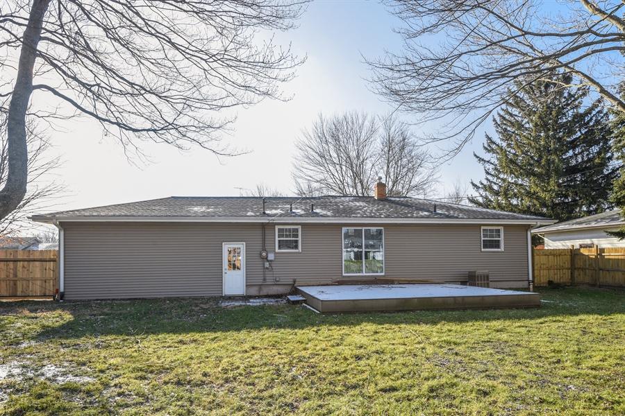 Real Estate Photography - 1855 N. Sierra Way, Stevensville, MI, 49127 - Rear View