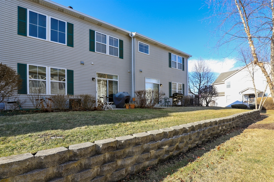 Real Estate Photography - 2914 Falling Waters Dr, Lindenhurst, IL, 60046 - Rear View