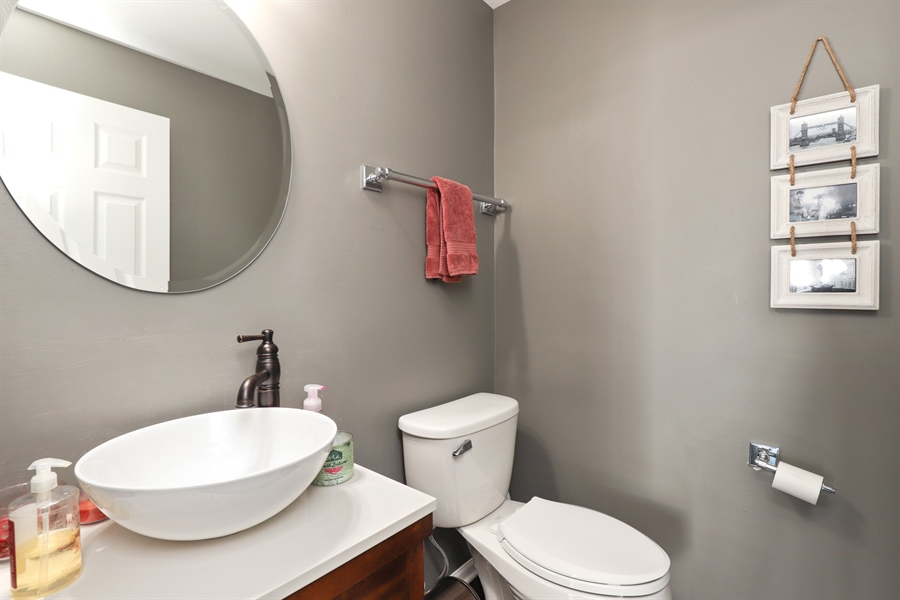 Real Estate Photography - 2914 Falling Waters Dr, Lindenhurst, IL, 60046 - Half Bath