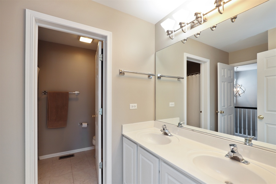 Real Estate Photography - 2914 Falling Waters Dr, Lindenhurst, IL, 60046 - Bathroom