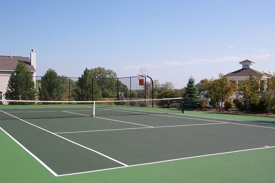 Real Estate Photography - 2914 Falling Waters Dr, Lindenhurst, IL, 60046 - Falling Waters Tennis Courts