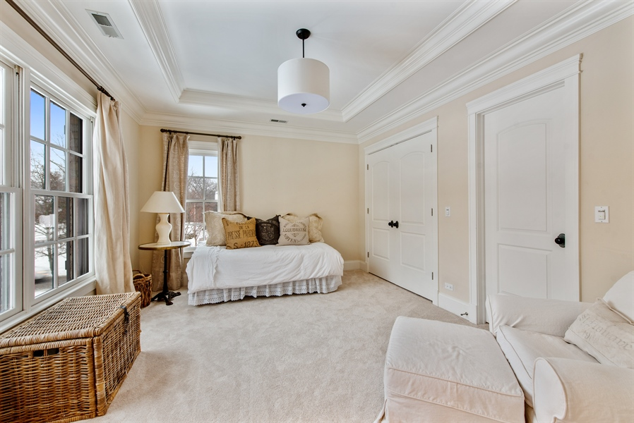 Real Estate Photography - 1301 Chestnut Avenue, Wilmette, IL, 60091 - 4th Bedroom
