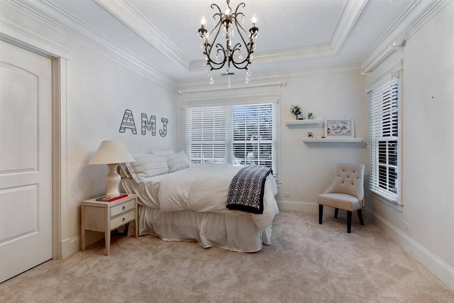 Real Estate Photography - 1301 Chestnut Avenue, Wilmette, IL, 60091 - 5th Bedroom