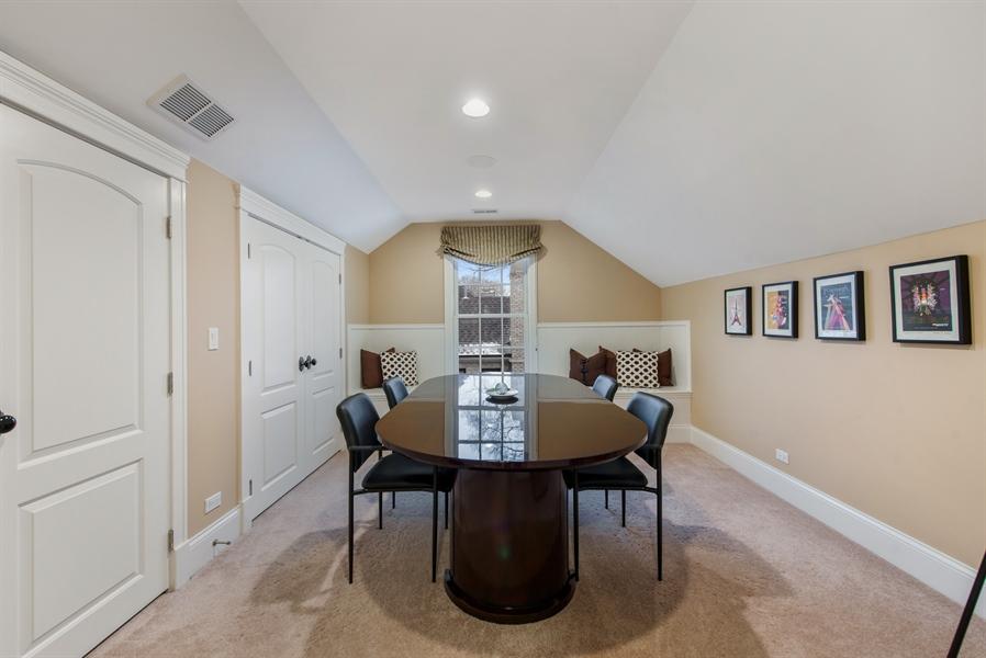 Real Estate Photography - 1301 Chestnut Avenue, Wilmette, IL, 60091 - 3rd Floor Play Room/Bonus Room