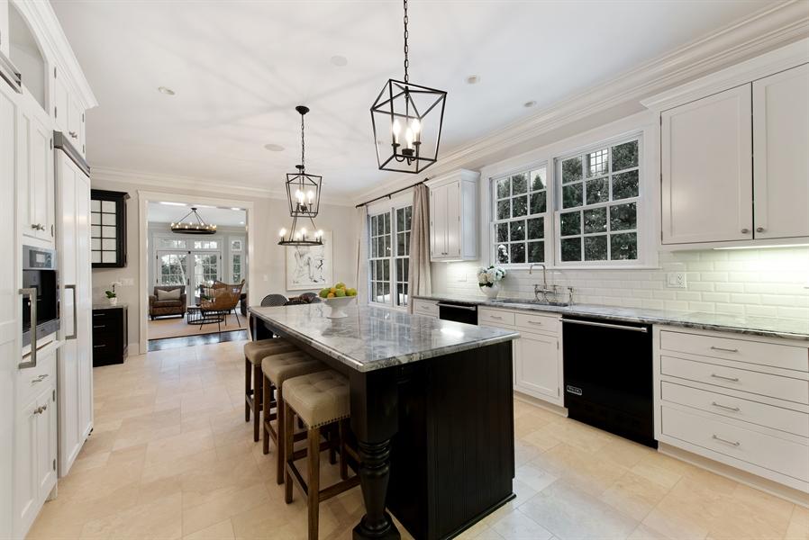 Real Estate Photography - 1301 Chestnut Avenue, Wilmette, IL, 60091 - Kitchen