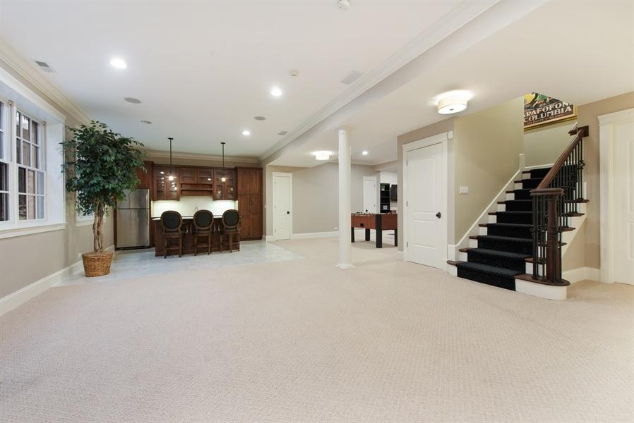 Real Estate Photography - 1301 Chestnut Avenue, Wilmette, IL, 60091 - Lower Level