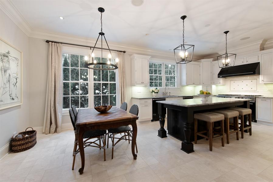 Real Estate Photography - 1301 Chestnut Avenue, Wilmette, IL, 60091 - Kitchen / Breakfast Room