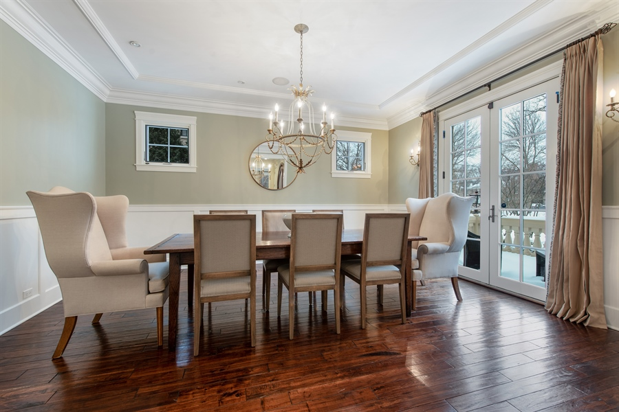 Real Estate Photography - 1301 Chestnut Avenue, Wilmette, IL, 60091 - Dining Room