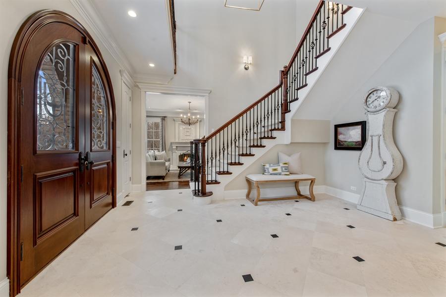 Real Estate Photography - 1301 Chestnut Avenue, Wilmette, IL, 60091 - Foyer