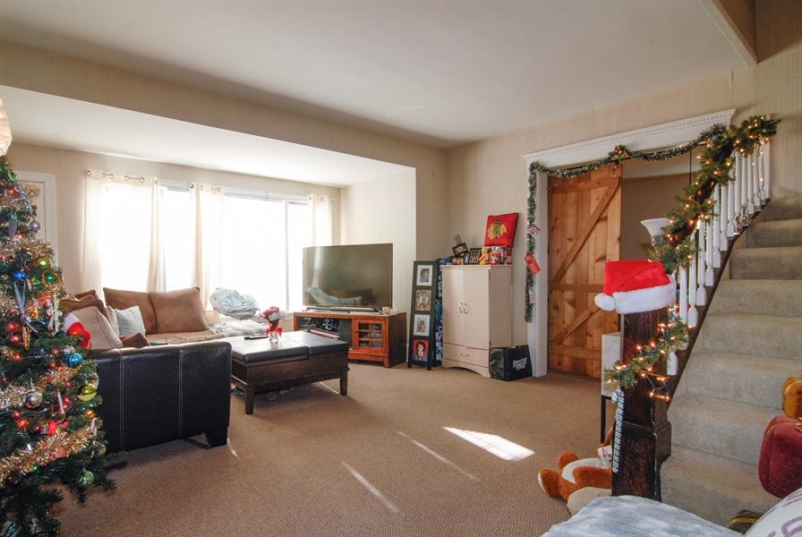 Real Estate Photography - 211 Prairie, Batavia, IL, 60510 - Living Room