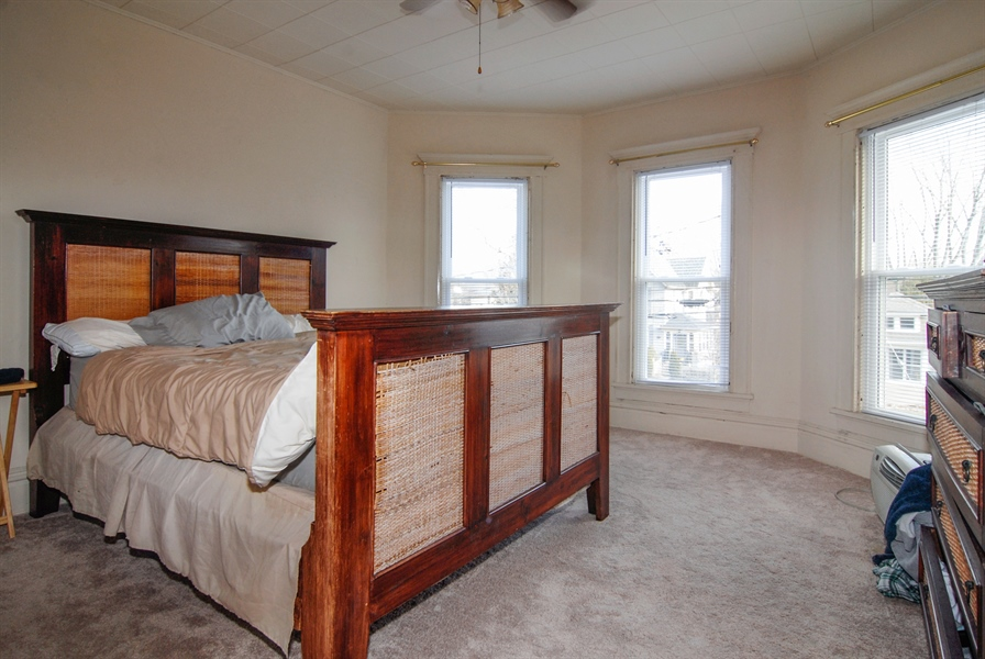 Real Estate Photography - 211 Prairie, Batavia, IL, 60510 - Master Bedroom