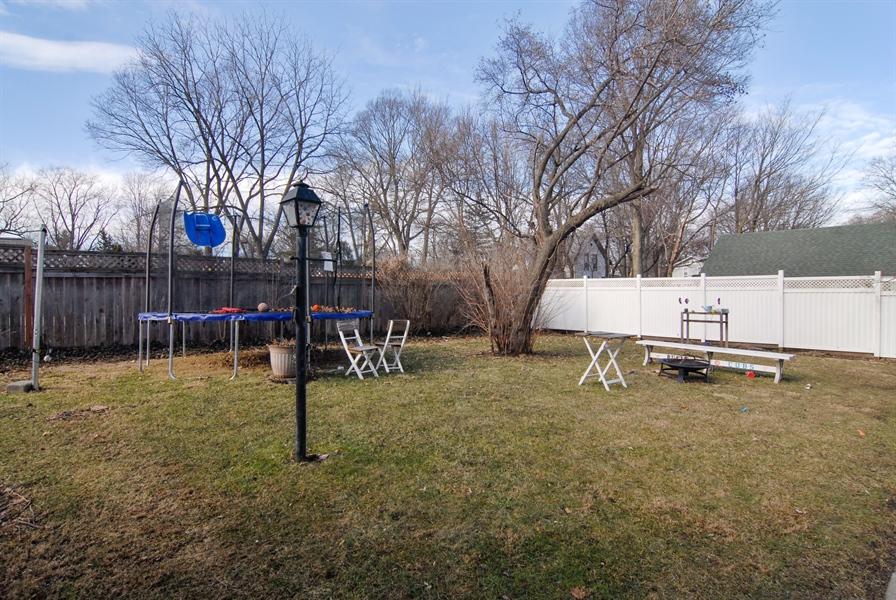 Real Estate Photography - 211 Prairie, Batavia, IL, 60510 - Back Yard