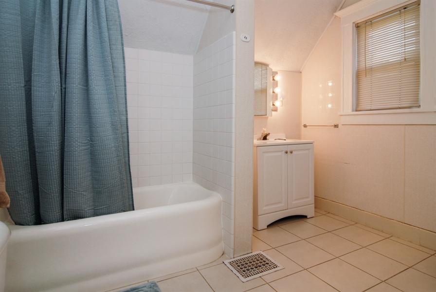 Real Estate Photography - 211 Prairie, Batavia, IL, 60510 - 2nd Bathroom