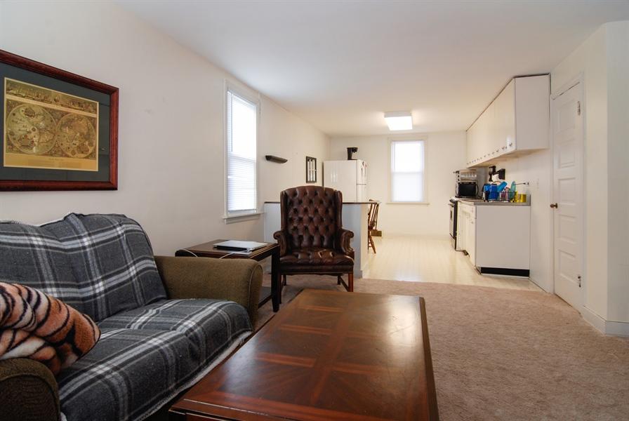 Real Estate Photography - 211 Prairie, Batavia, IL, 60510 - Living Room / Dining Room
