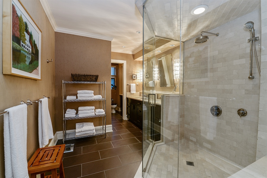 Real Estate Photography - 1120 N. Lakeshore Drive, 2B, Chicago, IL, 60611 - Master Bathroom