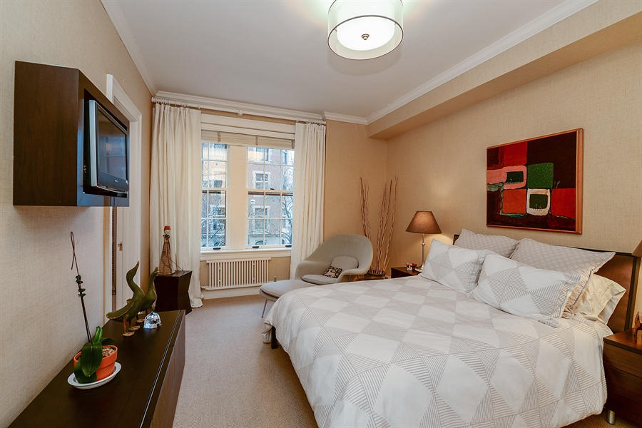Real Estate Photography - 1120 N. Lakeshore Drive, 2B, Chicago, IL, 60611 - 2nd Bedroom