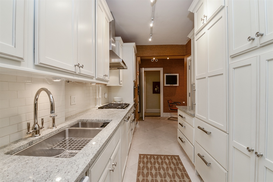 Real Estate Photography - 1120 N. Lakeshore Drive, 2B, Chicago, IL, 60611 - Kitchen