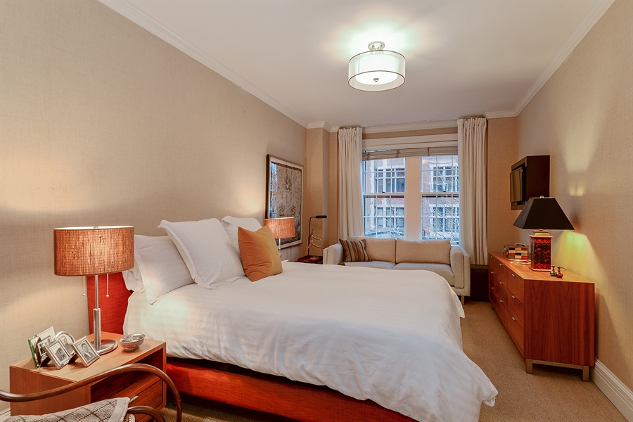 Real Estate Photography - 1120 N. Lakeshore Drive, 2B, Chicago, IL, 60611 - Master Bedroom