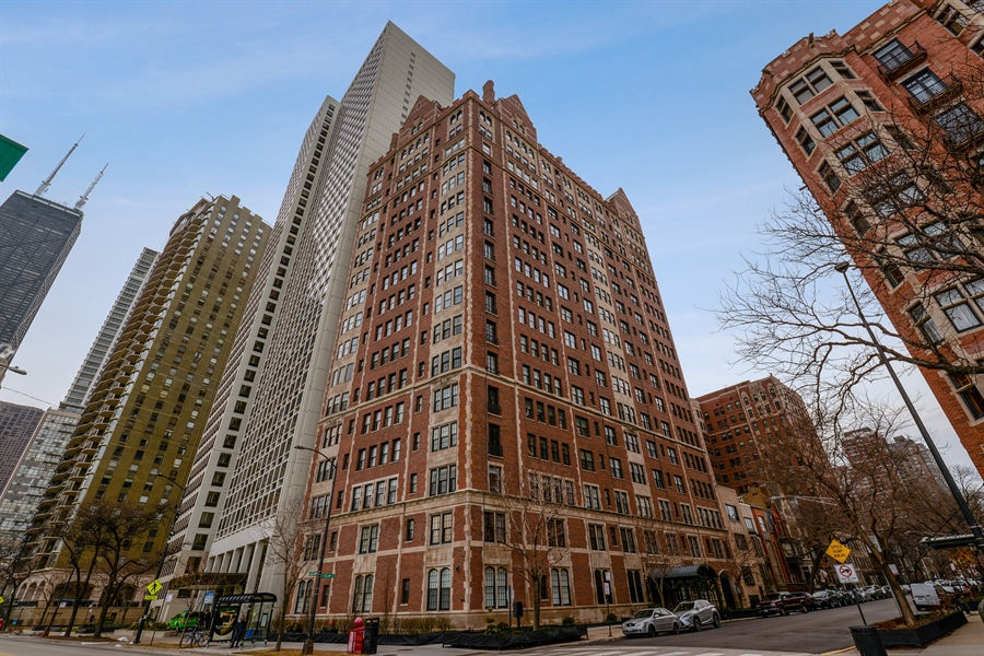 Real Estate Photography - 1120 N. Lakeshore Drive, 2B, Chicago, IL, 60611 - Front View
