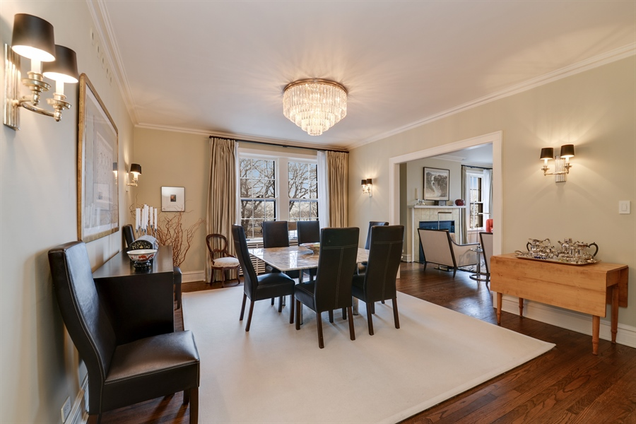 Real Estate Photography - 1120 N. Lakeshore Drive, 2B, Chicago, IL, 60611 - Dining Room