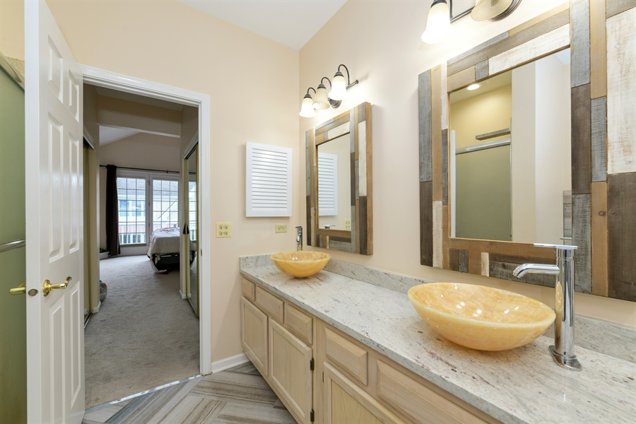Real Estate Photography - 4115 Stableford, Naperville, IL, 60564 - Master Bathroom