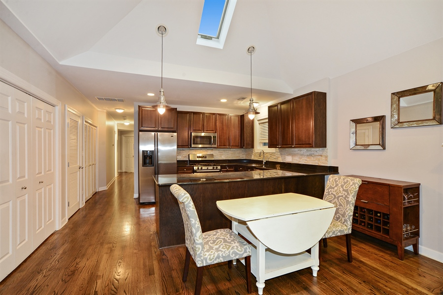 Real Estate Photography - 3221 N. Clifton, 3S, Chicago, IL, 60657 - Dining Room
