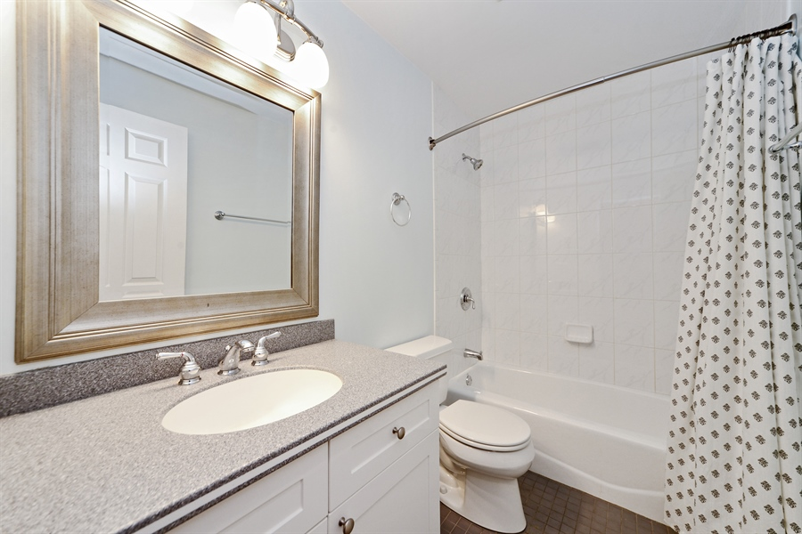 Real Estate Photography - 3221 N. Clifton, 3S, Chicago, IL, 60657 - Bathroom