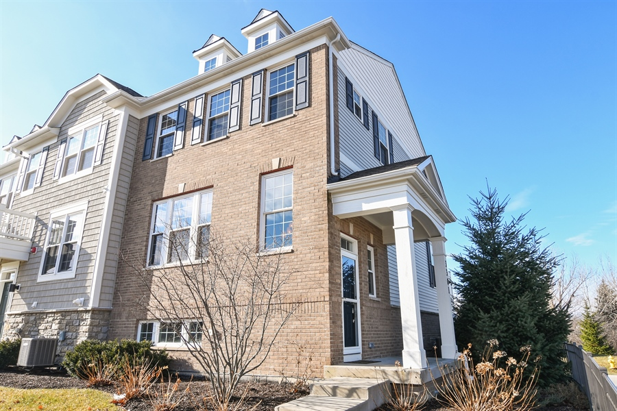 Real Estate Photography - 3301 Coral, Glenview, IL, 60026 - Front View
