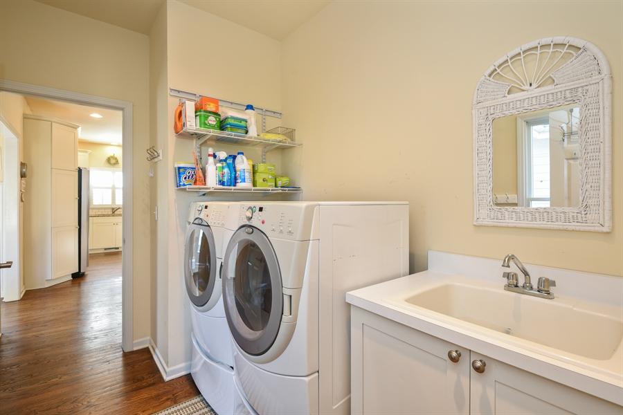Real Estate Photography - 3457 Bluegrass Way, St. Joseph, MI, 49085 - Laundry Room