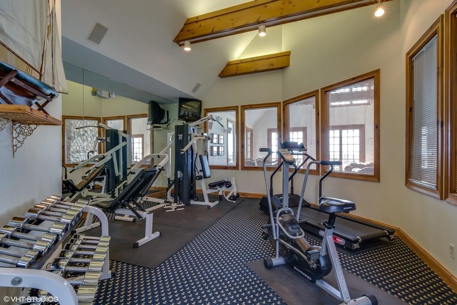 Real Estate Photography - 3457 Bluegrass Way, St. Joseph, MI, 49085 - Fitness Room