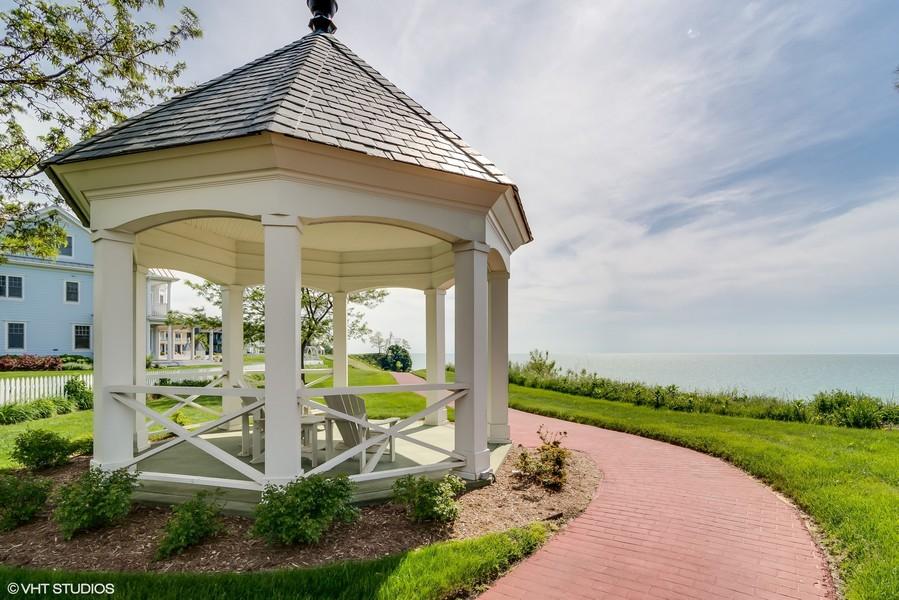 Real Estate Photography - 3457 Bluegrass Way, St. Joseph, MI, 49085 - Gazebo
