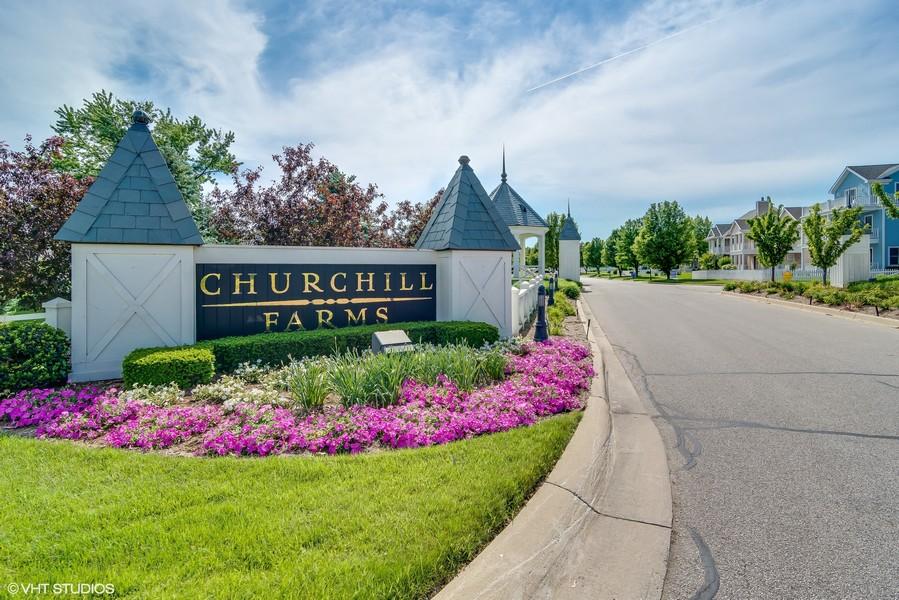 Real Estate Photography - 3457 Bluegrass Way, St. Joseph, MI, 49085 - Churchill Farms Entrance