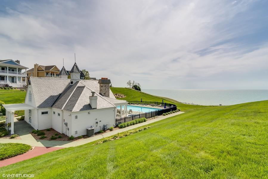 Real Estate Photography - 3457 Bluegrass Way, St. Joseph, MI, 49085 - Clubhouse & Pool