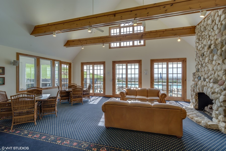 Real Estate Photography - 3457 Bluegrass Way, St. Joseph, MI, 49085 - Clubhouse Community Room