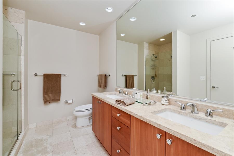 Real Estate Photography - 60 E. Monroe Ave, 5403, Chicago, IL, 60603 - Master Bathroom