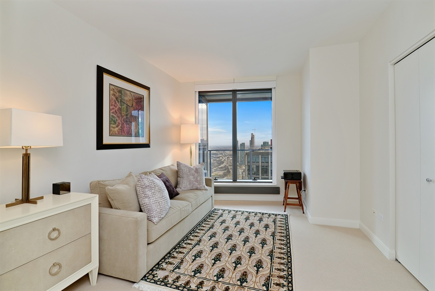 Real Estate Photography - 60 E. Monroe Ave, 5403, Chicago, IL, 60603 - 2nd Bedroom