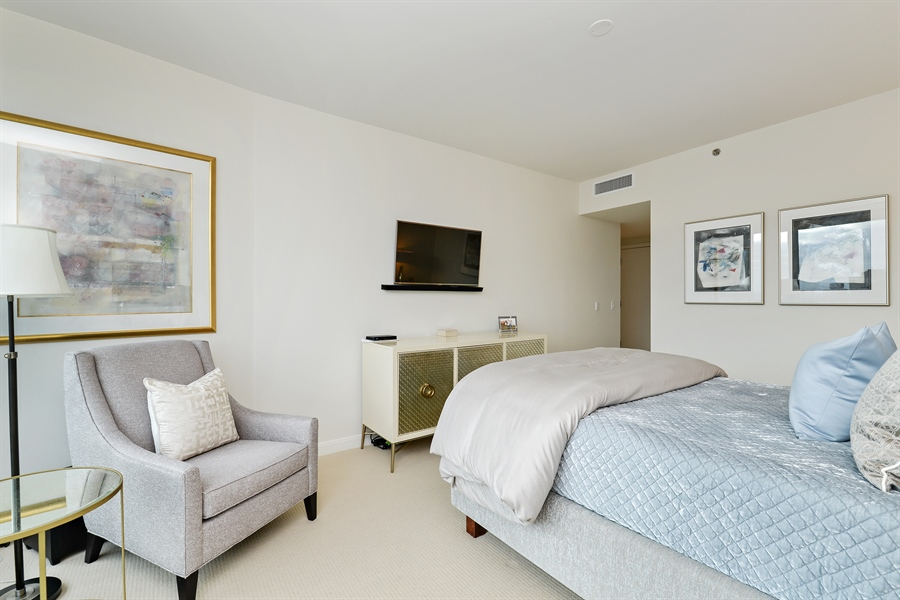 Real Estate Photography - 60 E. Monroe Ave, 5403, Chicago, IL, 60603 - Master Bedroom