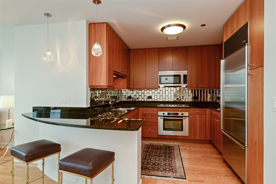 Real Estate Photography - 60 E. Monroe Ave, 5403, Chicago, IL, 60603 - Kitchen