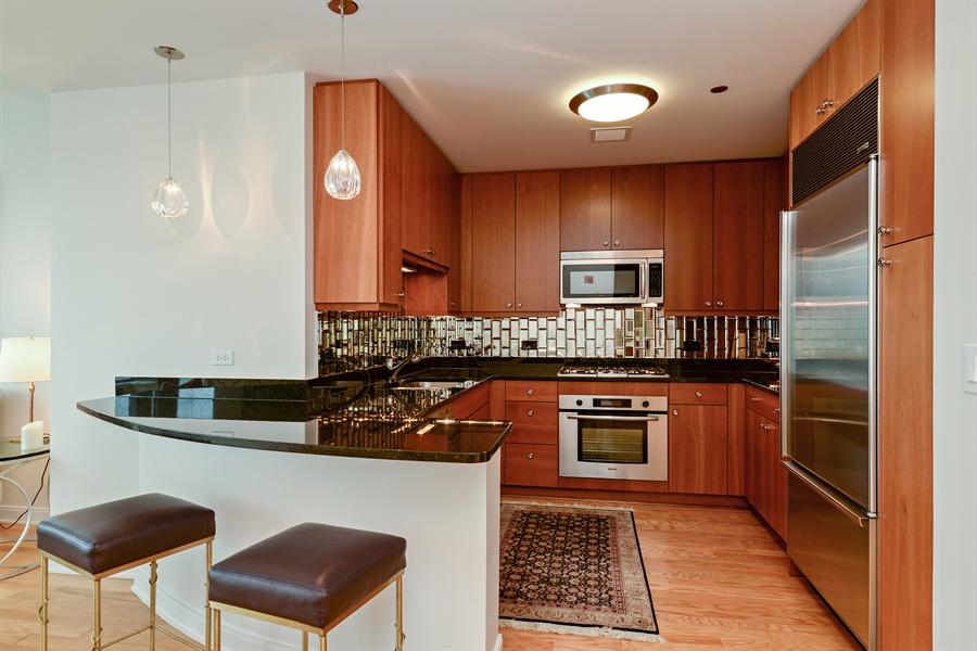 Real Estate Photography - 60 E. Monroe Ave, 5403, Chicago, IL, 60603 - Kitchen