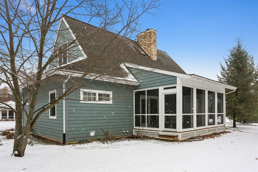 Real Estate Photography - 20 Pond Path, New Buffalo, MI, 49117 - Rear View