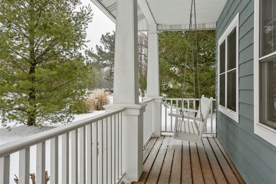 Real Estate Photography - 20 Pond Path, New Buffalo, MI, 49117 - Porch