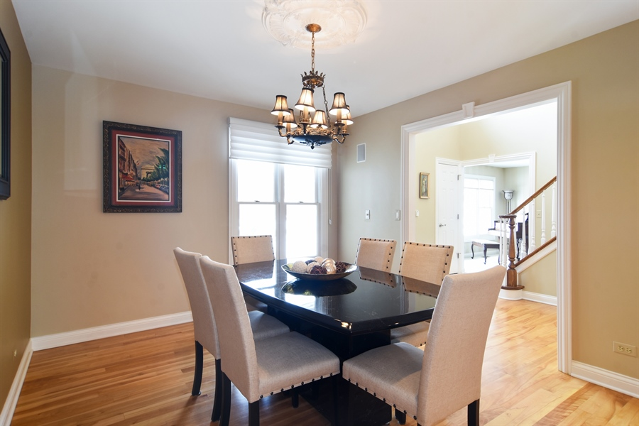 Real Estate Photography - 475 Newtown Drive, Buffalo Grove, IL, 60089 - Dining Room