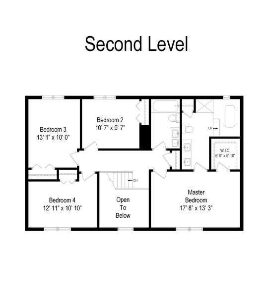 Real Estate Photography - 475 Newtown Drive, Buffalo Grove, IL, 60089 - Floor Plan