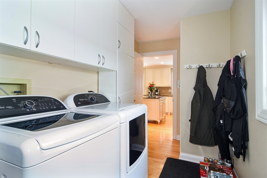 Real Estate Photography - 475 Newtown Drive, Buffalo Grove, IL, 60089 - Laundry Room