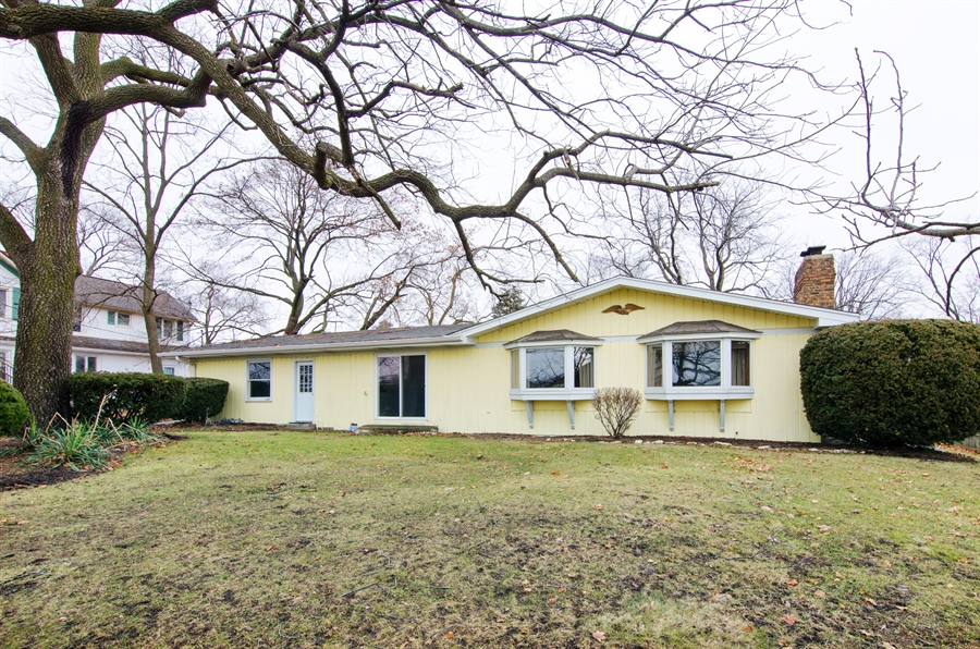 Real Estate Photography - 111 Beverly Rd, Barrington, IL, 60010 - Rear View